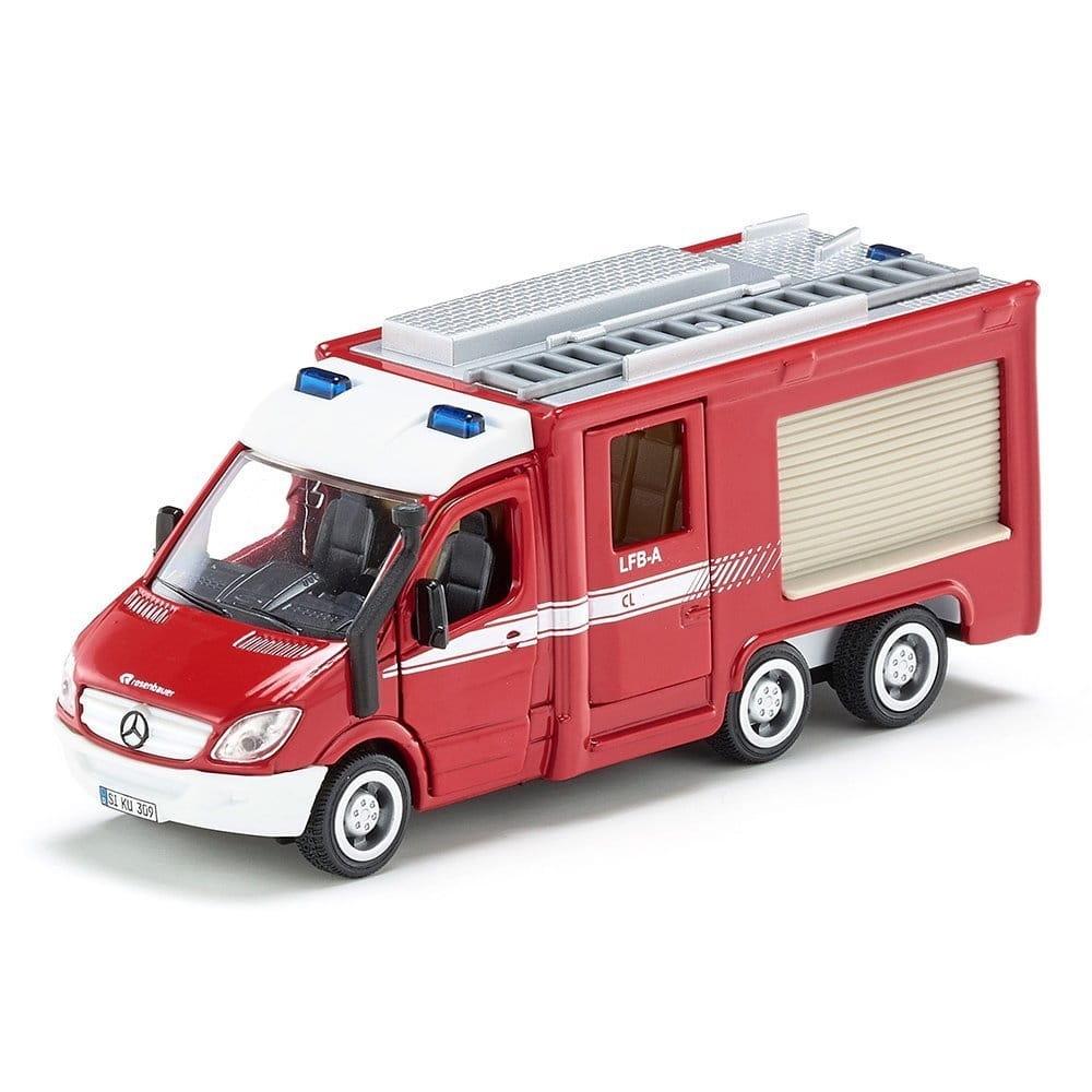 Пожарная машина-спринтер SIKU Mercedes Benz