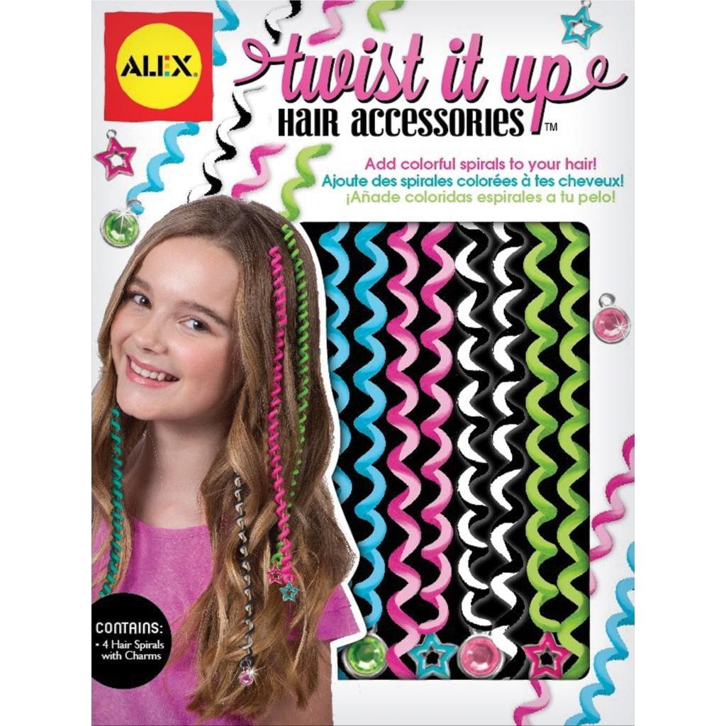Набор для украшения волос Alex 722T Twist it up