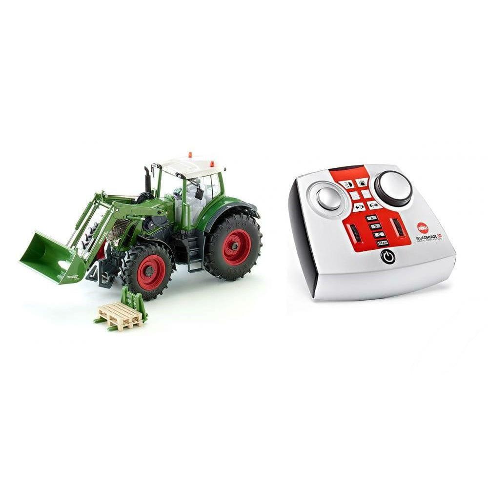 Радиоуправляемый трактор SIKU Fendt 939 Vario с фронтальным погрузчиком