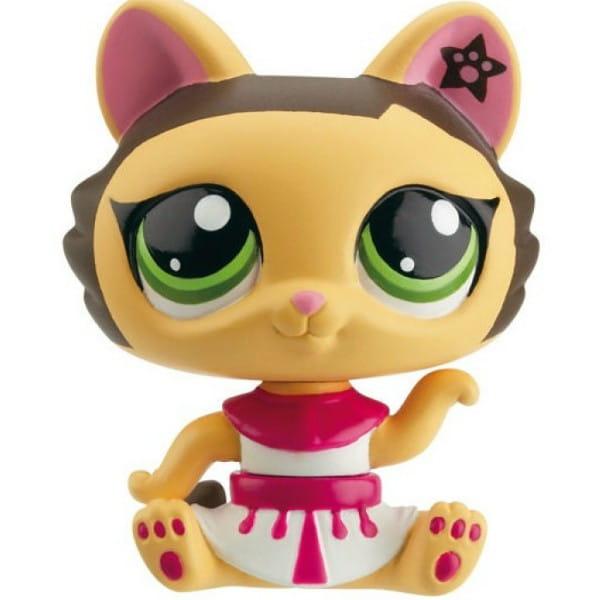 Купить Интерактивная игрушка Littlest Pet Shop Танцующие зверюшки - Котенок (Hasbro) в интернет магазине игрушек и детских товаров