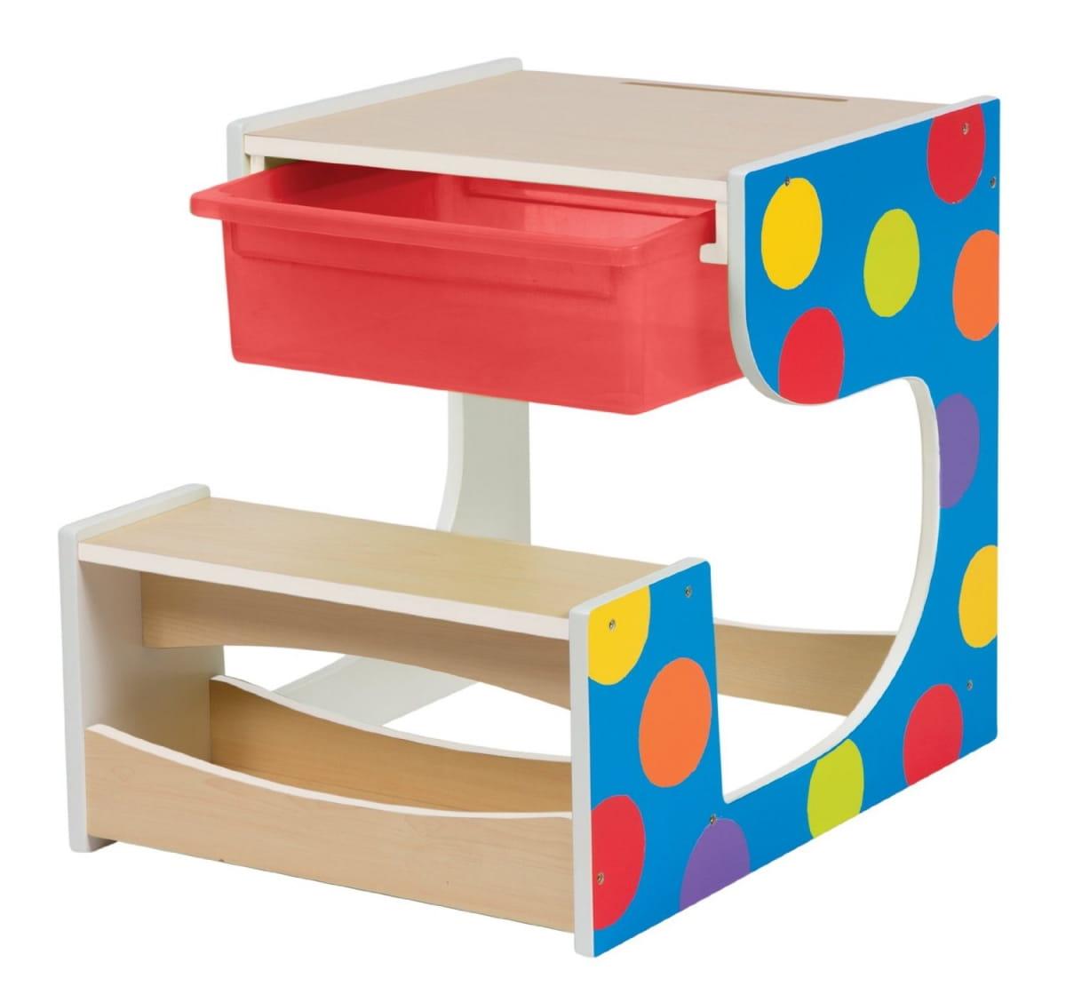 Стол-парта ALEX со скамейкой - Детская мебель