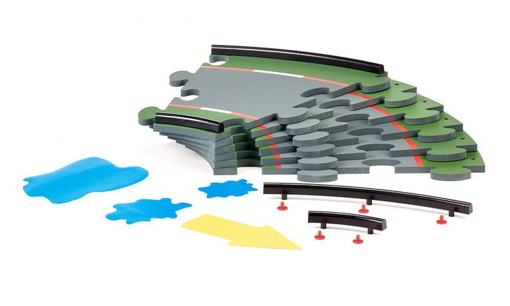Набор деталей дорожного полотна SIKU Racing - повороты 30 градусов