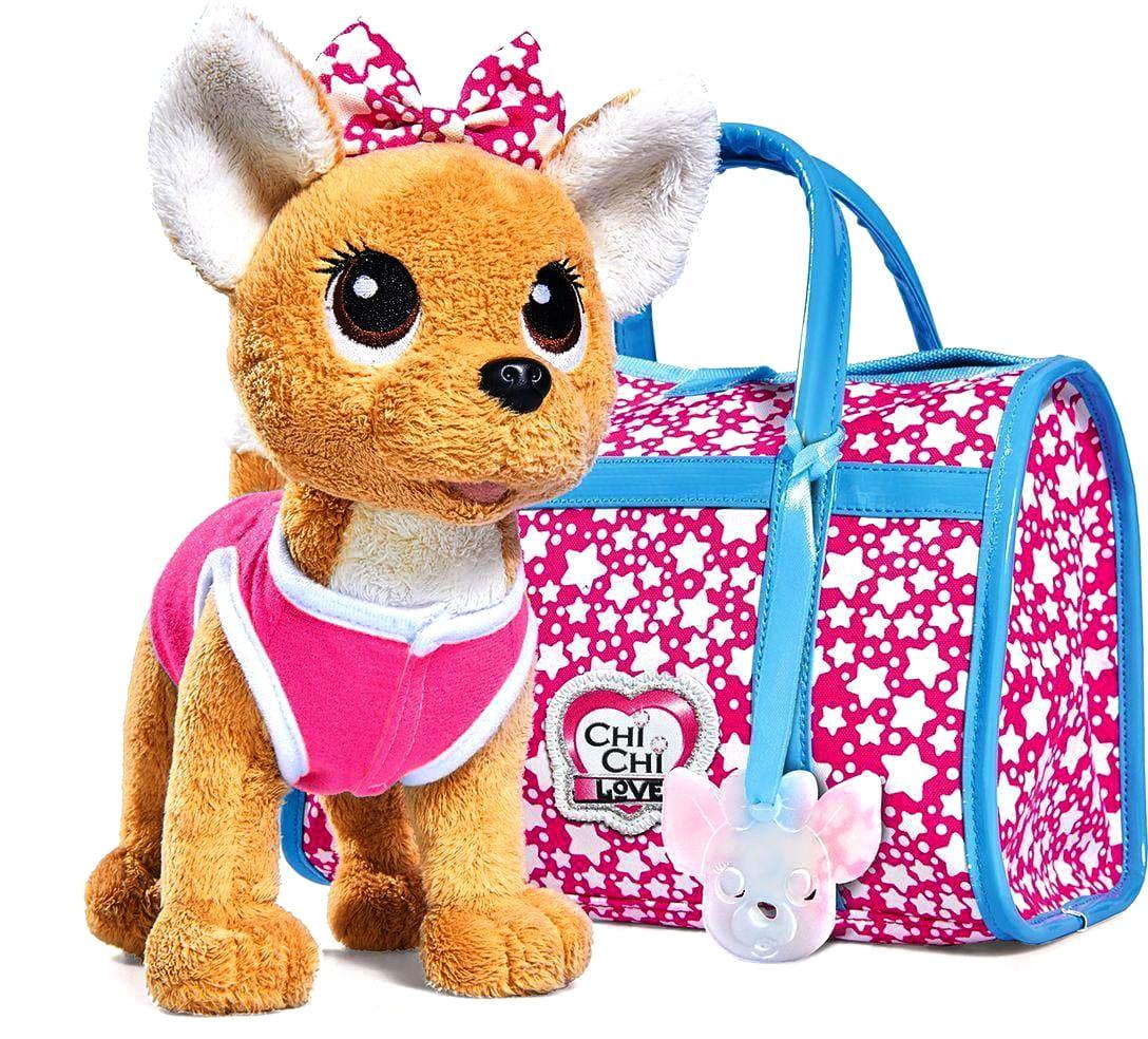 Собачка Chi-Chi love Звездный стиль  20 см (SIMBA) - Игровые наборы для девочек