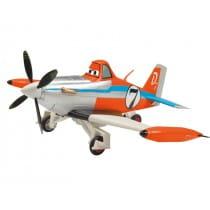 Радиоуправляемый самолет Dickie Дасти 25 см 1:24 (ездит по поверхности)