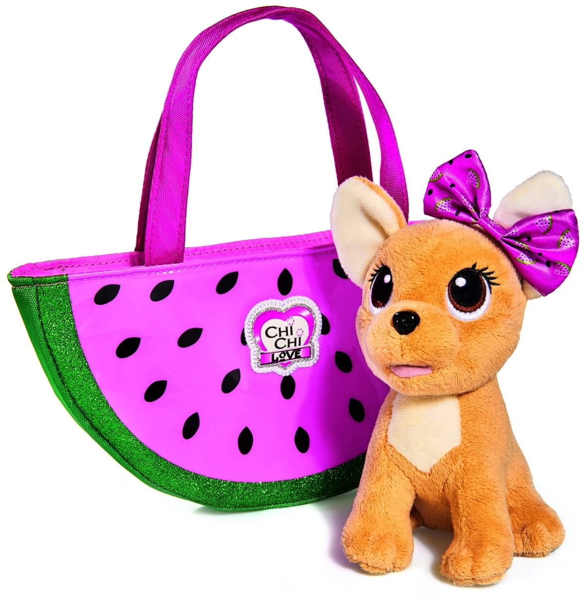 Собачка Chi-Chi love Фруктовая мода  18 см (SIMBA) - Игровые наборы для девочек