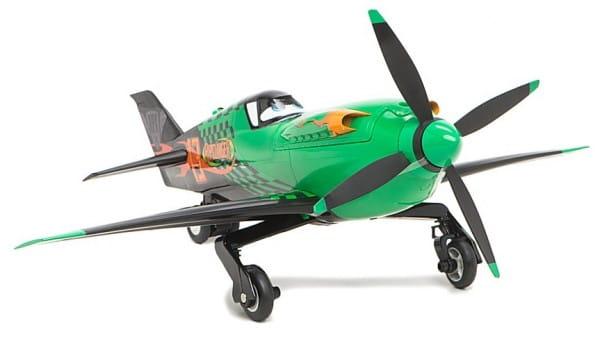 Радиоуправляемый самолет Dickie Рипслингер 31 см 1:24 (ездит по поверхности)