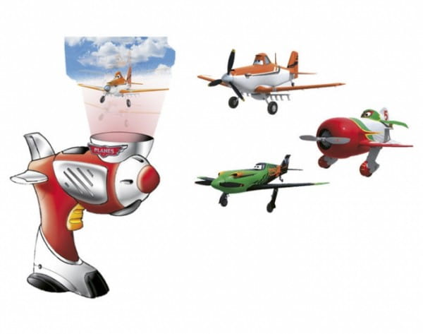 Самолет с пусковым механизмом DICKIE Дасти 7 см