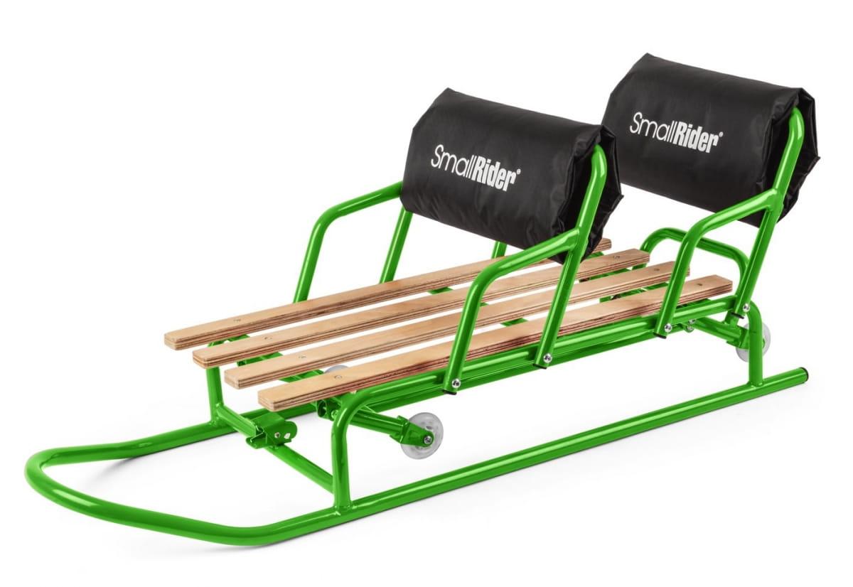 Санимобиль Small Rider 472735 Snow Twins для двойни - зеленый