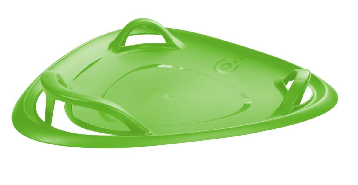 Треугольные санки-ледянка Gismo Riders 1373603 Meteor с ручками - зеленые