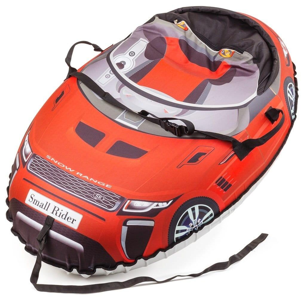 Надувные санки-тюбинг Small Rider 332136 Snow Cars 2 Ranger - красные