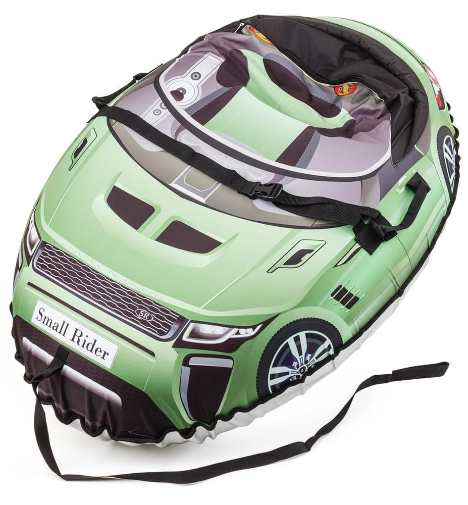 Надувные санки-тюбинг Small Rider 332136 Snow Cars 2 Ranger - оливковые