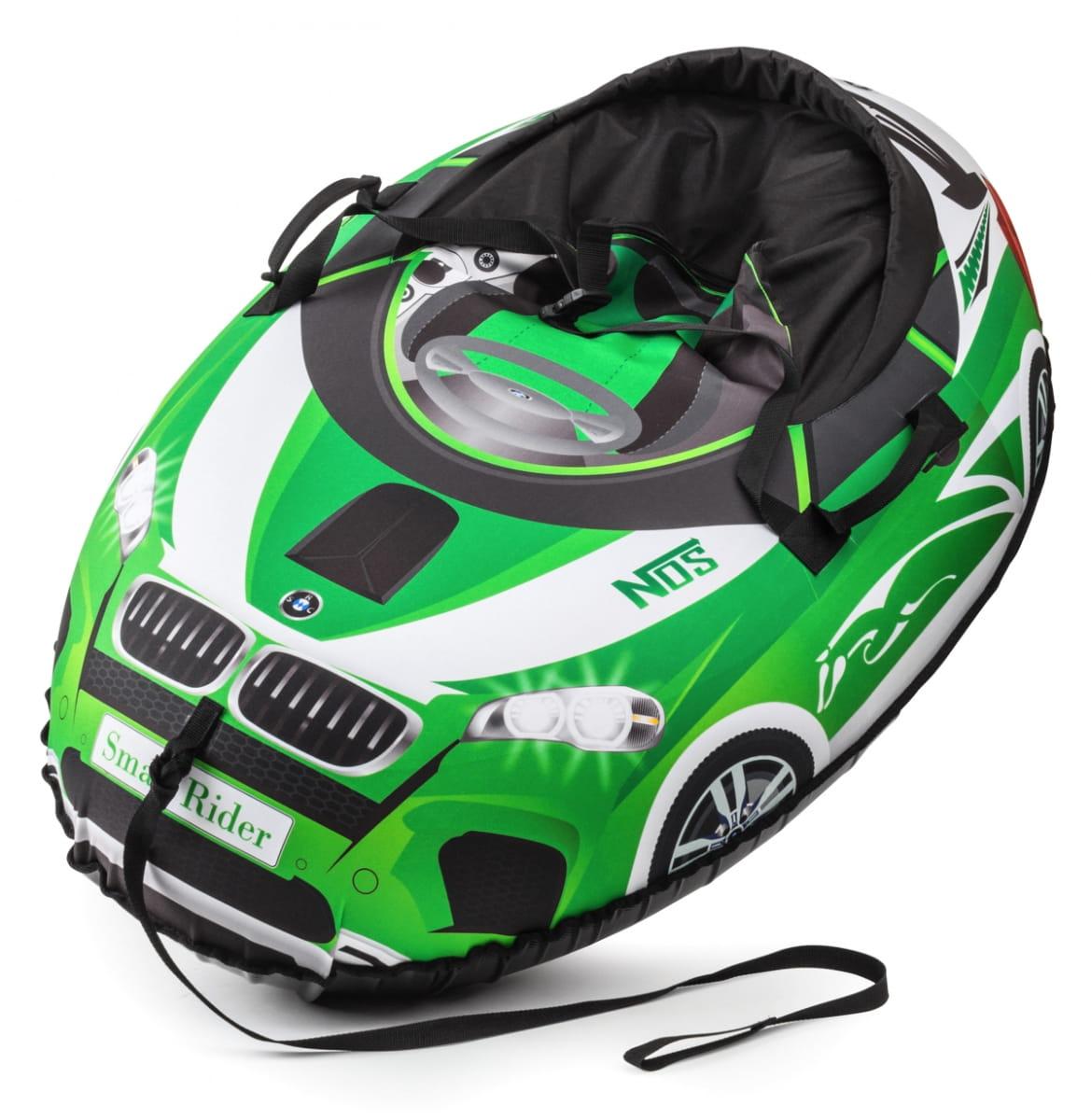 Надувные санки-тюбинг Small Rider 332136 Snow Cars 2 - зеленые