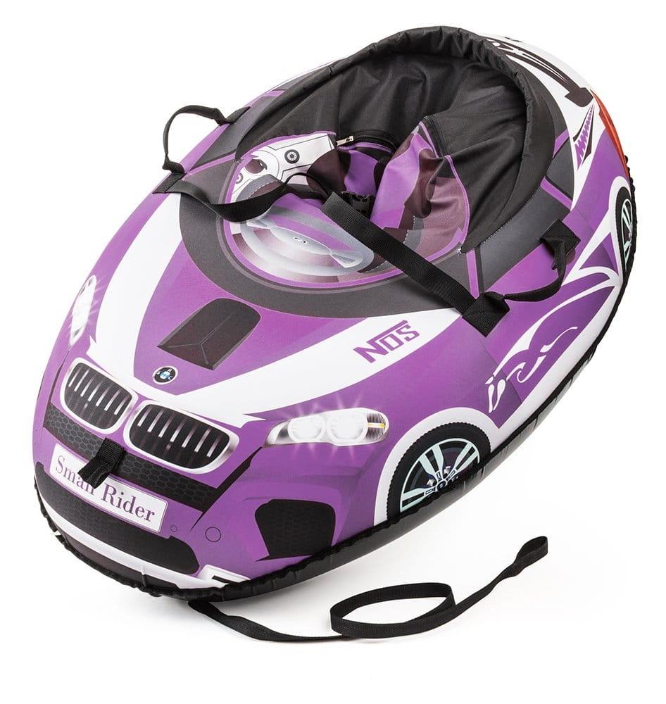 Надувные санки-тюбинг Small Rider 332136 Snow Cars 2 - фиолетовые