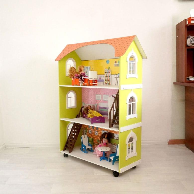 Кукольный домик Фабрика домиков Лесная сказка