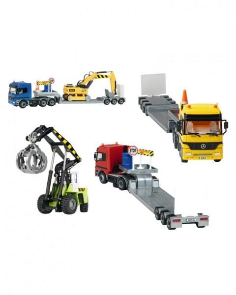 Купить Автотрейлер и тягач Dickie 49 см в интернет магазине игрушек и детских товаров