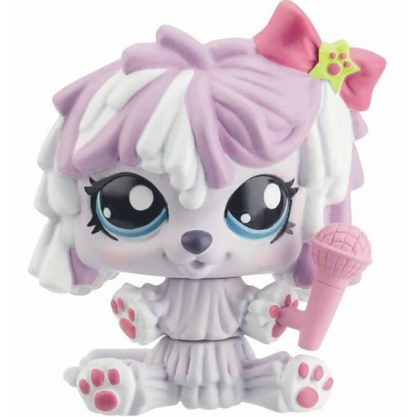 Купить Интерактивная игрушка Littlest Pet Shop Танцующие зверюшки - Щенок (Hasbro) в интернет магазине игрушек и детских товаров