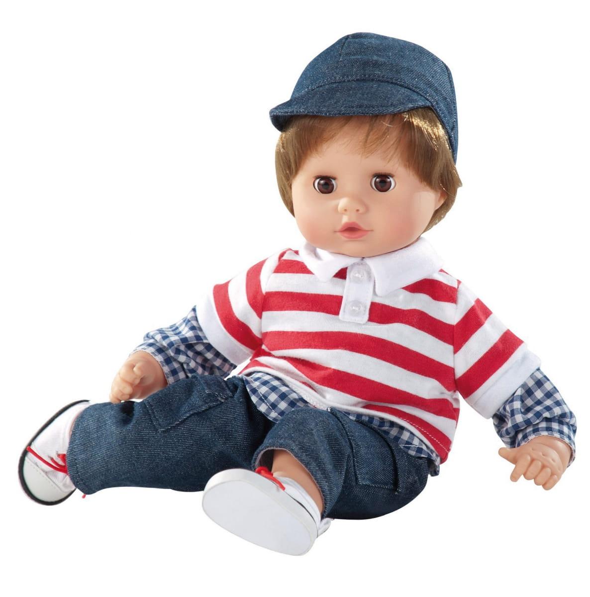 Кукла GOTZ Маффин - 33 см (в джинсах и кепочке)