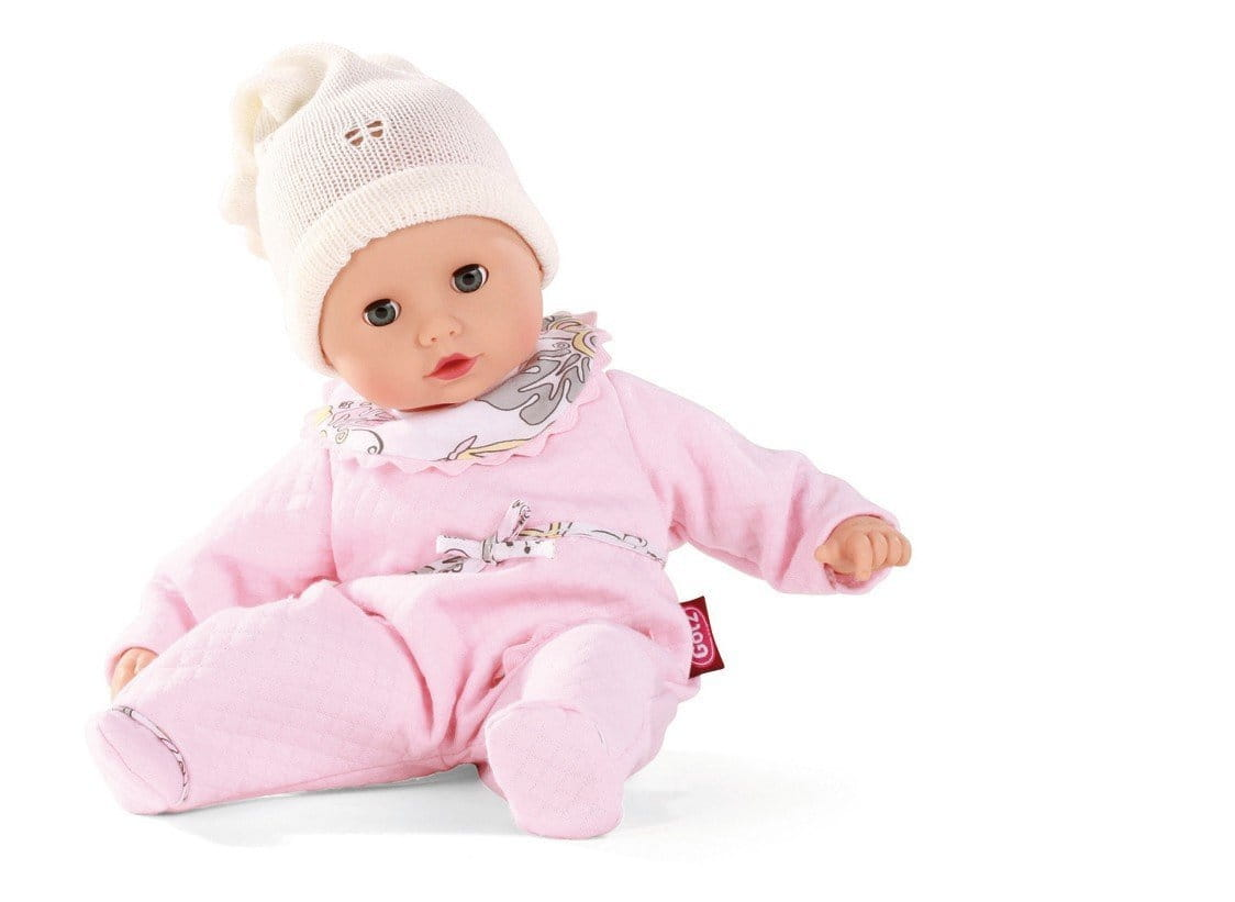 Кукла-пупс GOTZ Маффин - 33 см (в розовом комбинезончике)