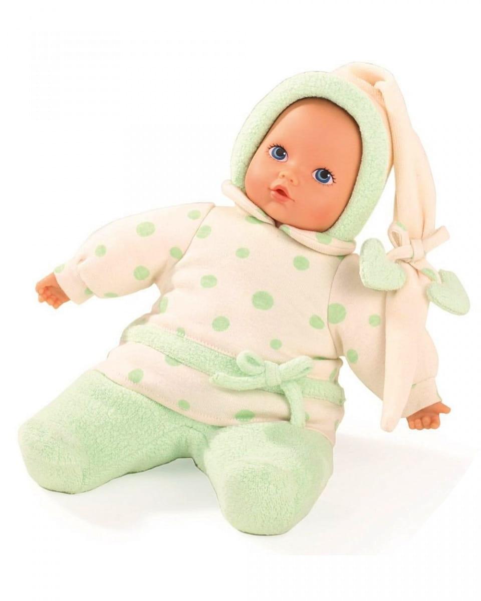 Кукла-пупс GOTZ Baby Pure Яблочко - 33 см (в флисовом комбинезончике)