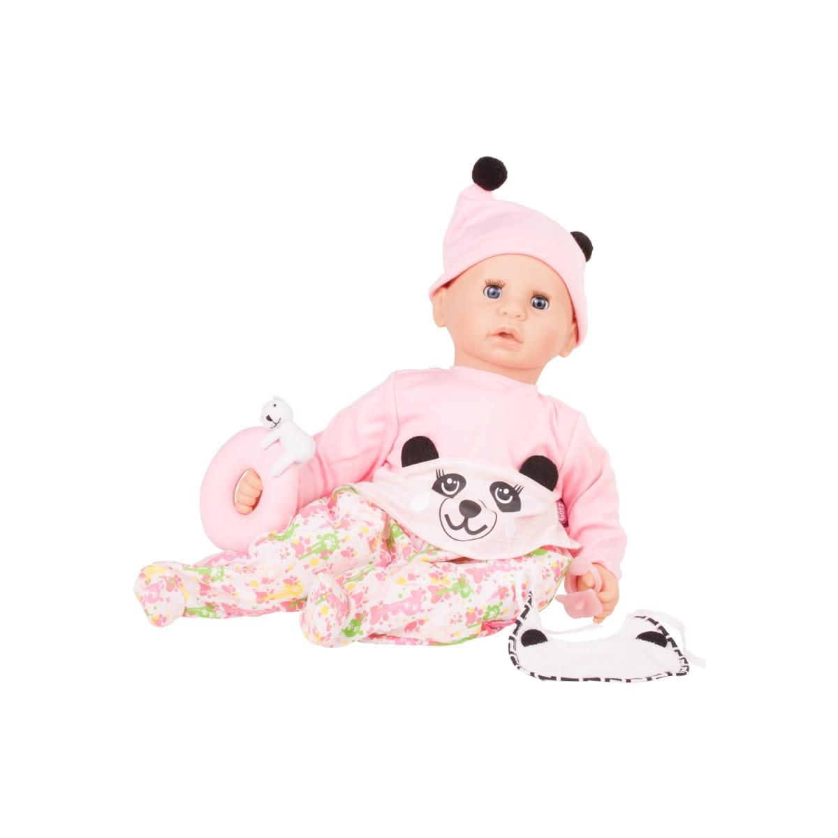 Кукла-пупс GOTZ Cookie Малыш - 48 см (в розовой кофточке и шапочке)