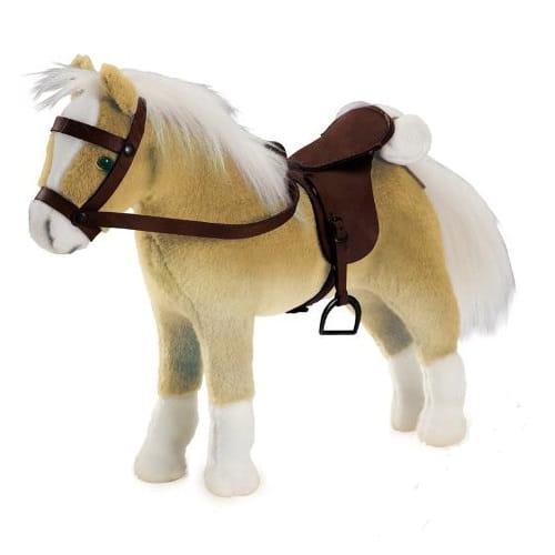 Лошадка для кукол Gotz Хафлингер (с седлом и уздечкой)