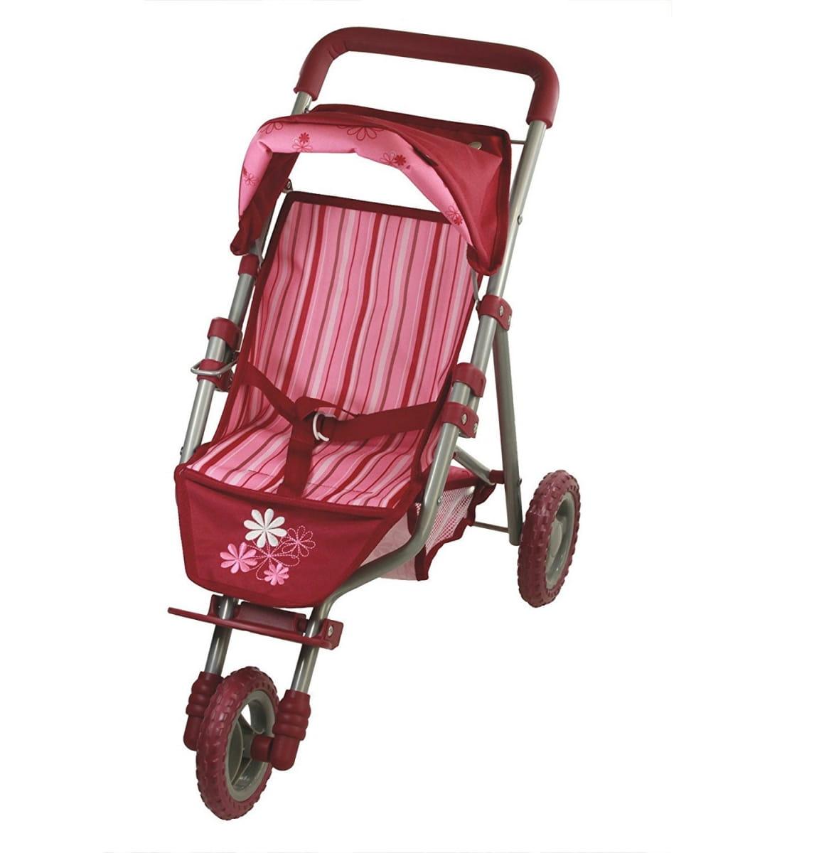 Прогулочная коляская для кукол GOTZ - красная