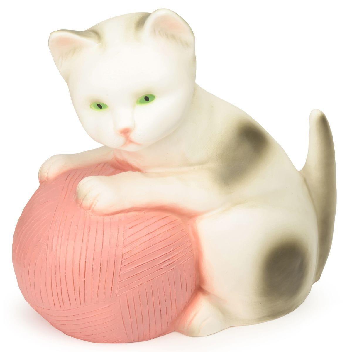 Ночник Egmont Toys Котенок с розовым клубком  22 см - Ночники