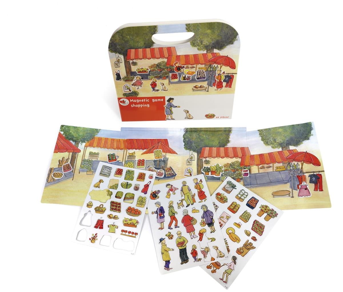 Магнитная игра Egmont Toys 630659 За покупками