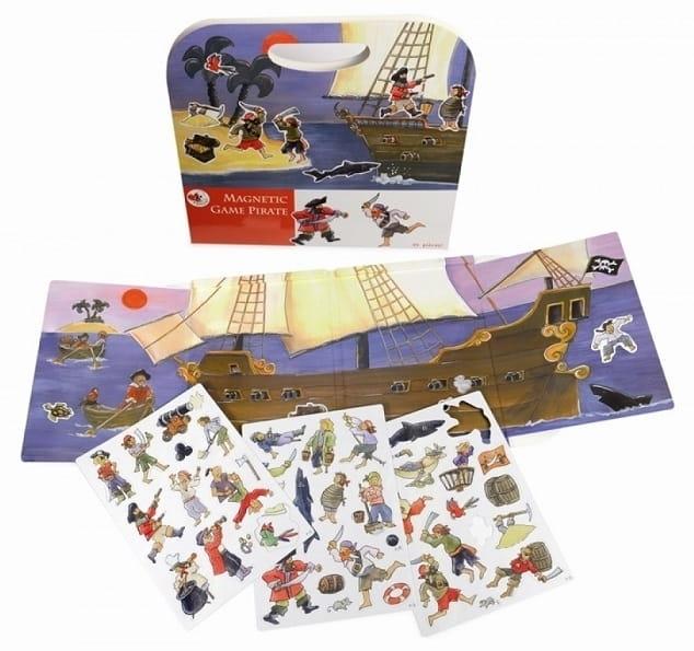 Магнитная игра Egmont Toys 630660 Пиратский корабль