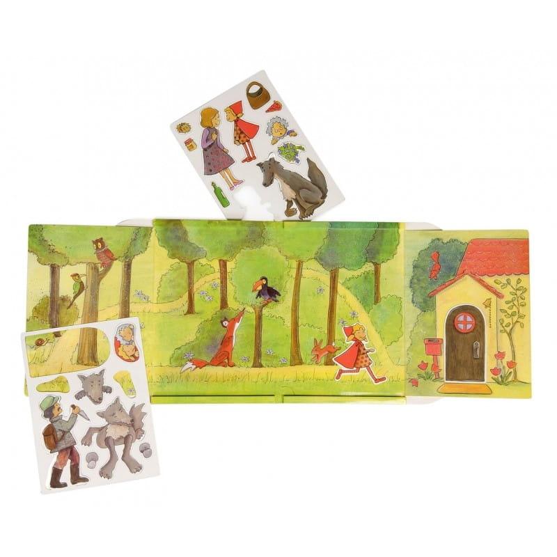 Магнитная игра Egmont Toys 630661 Красная шапочка
