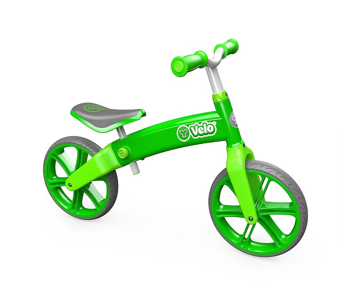 Беговел Yvolution 100001 Velo Balance - зеленый