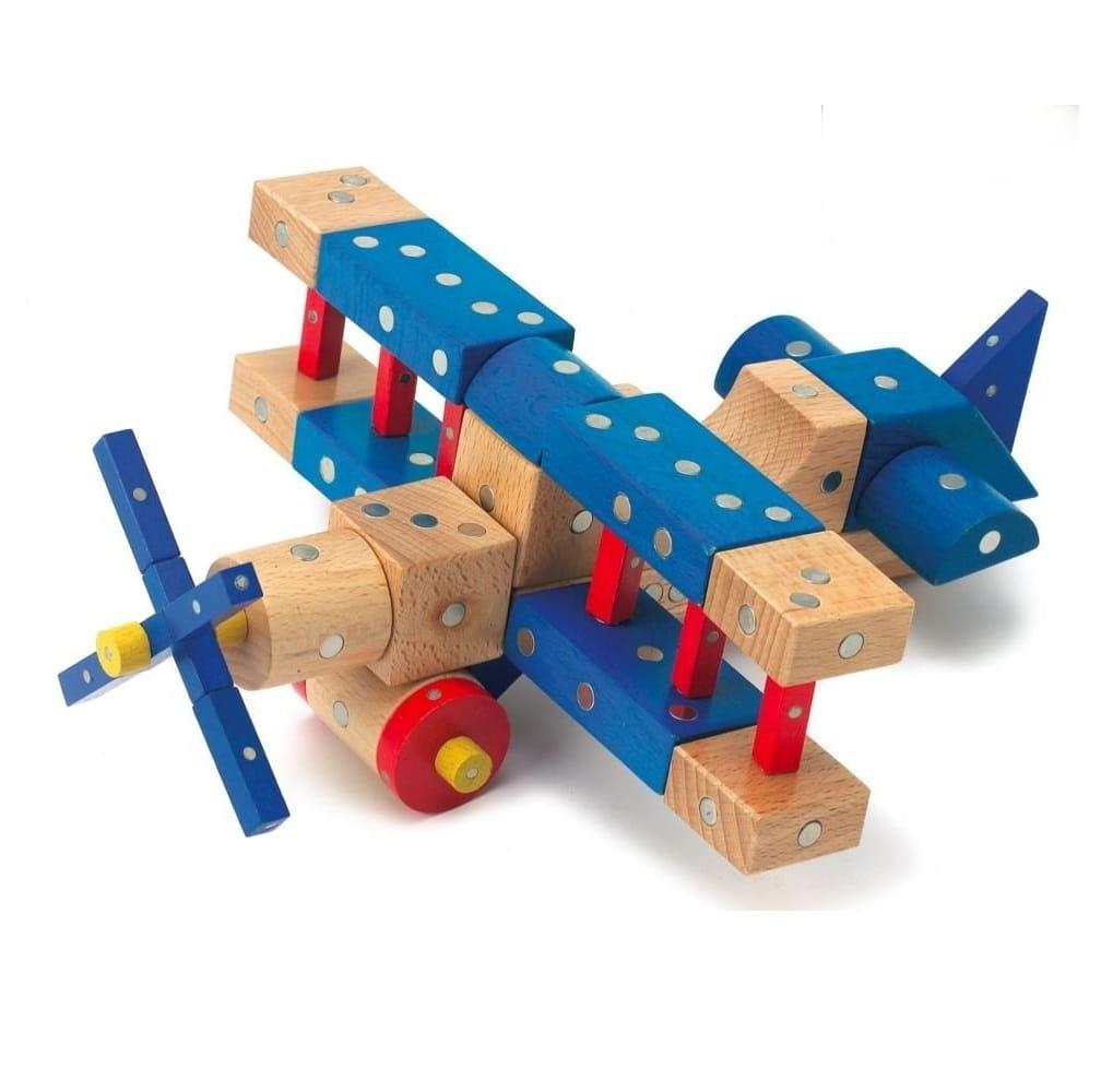 Магнитный конструктор Genii Creation Транспорт  110 деталей - Магнитные конструкторы