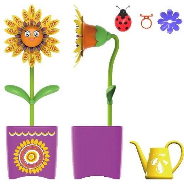 Интерактивная игрушка Magic Blooms Волшебный цветок с кольцом и жучком (SILVERLIT)
