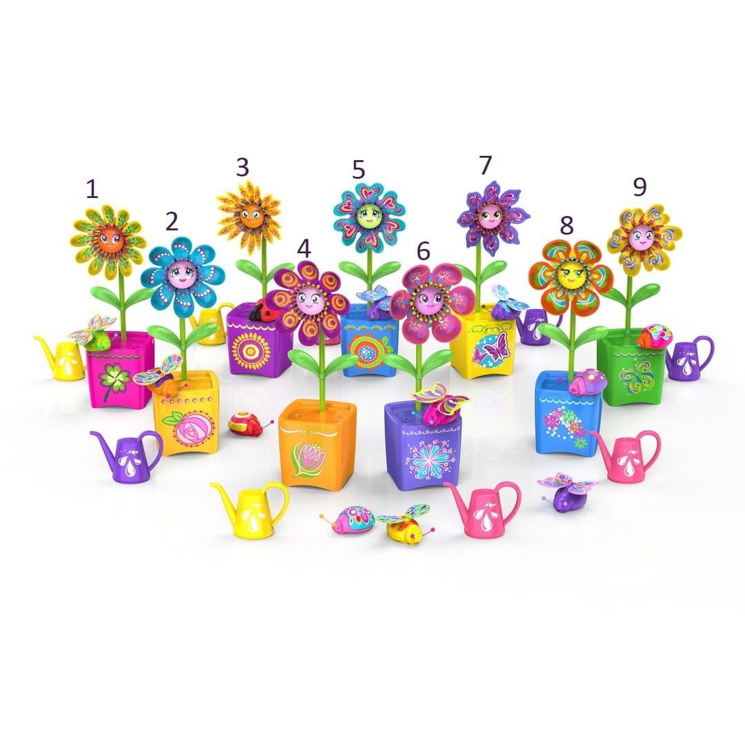Интерактивная игрушка Magic Blooms Волшебный цветок с ожерельем и жучком (Silverlit)