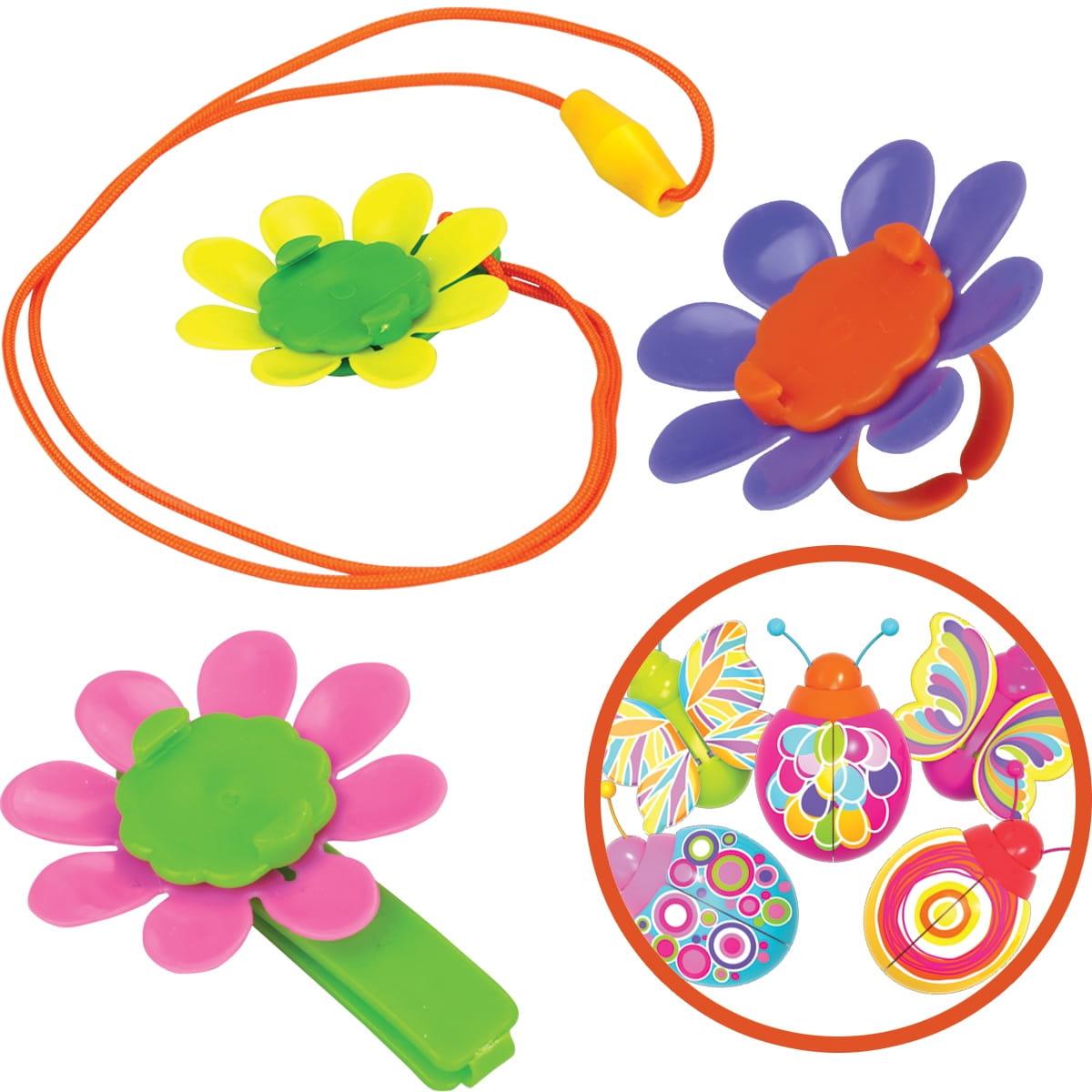 Набор украшений Magic Blooms с жучком, кольцом, ожерельем и заколкой (Silverlit)