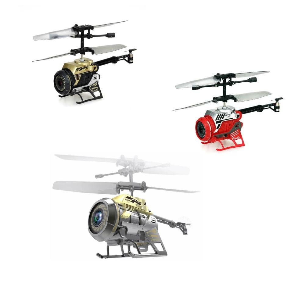Радиоуправляемый вертолет Silverlit 84729 Spy Cam Nano (с камерой)