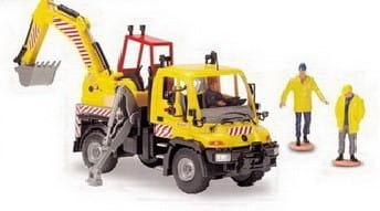 Дорожный сервис Dickie 3414492 с подъемным краном - 21 см