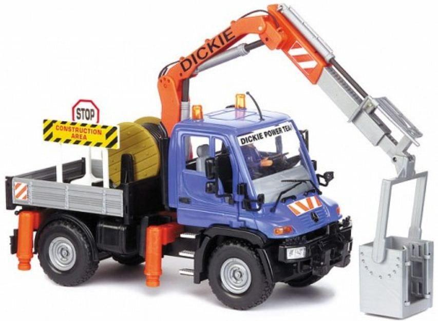 Дорожный сервис с гидравлическим лифтом Dickie - 21 см