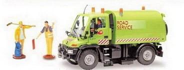 Дорожный сервис Dickie 3414492 Уборочная машина - 21 см