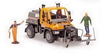 Дорожный сервис Dickie 3414492 Машина для распыления антигололедного покрытия - 21 см
