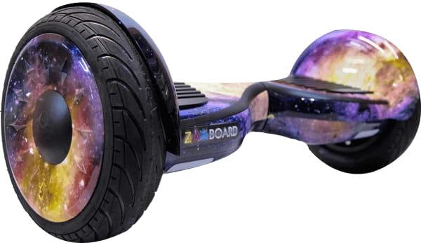 Гироскутер Zaxboard ZX11 Pro - космос галактика