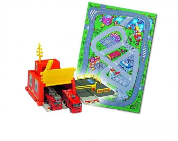 Купить Игровой набор Dickie Пожарная станция в интернет магазине игрушек и детских товаров