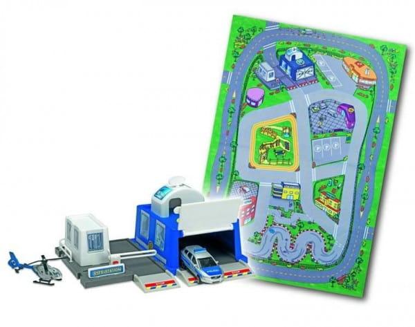 Купить Игровой набор Dickie Парковочная станция полиции в интернет магазине игрушек и детских товаров