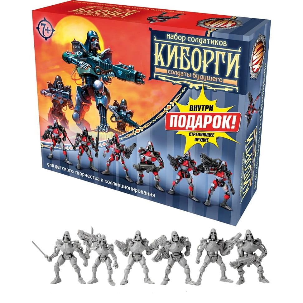 Игровой набор Технолог 3664 Битвы Fantasy Киборги