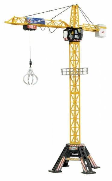 Подъемный мега-кран с аксессуарами Dickie 120 см