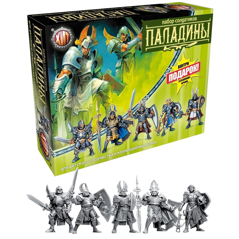 Игровой набор Технолог 6252 Битвы Fantasy Паладины