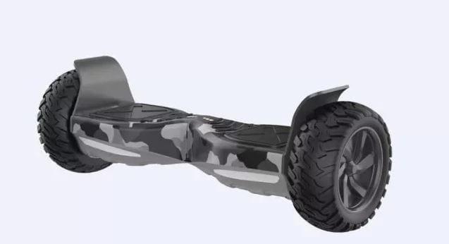 Внедорожный гироскутер Kiwano KO-X ES-03 - camo grey