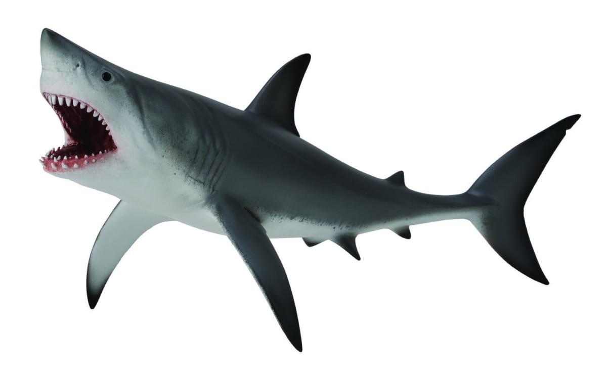 Фигурка Collecta 88729b Белая большая акула - XL