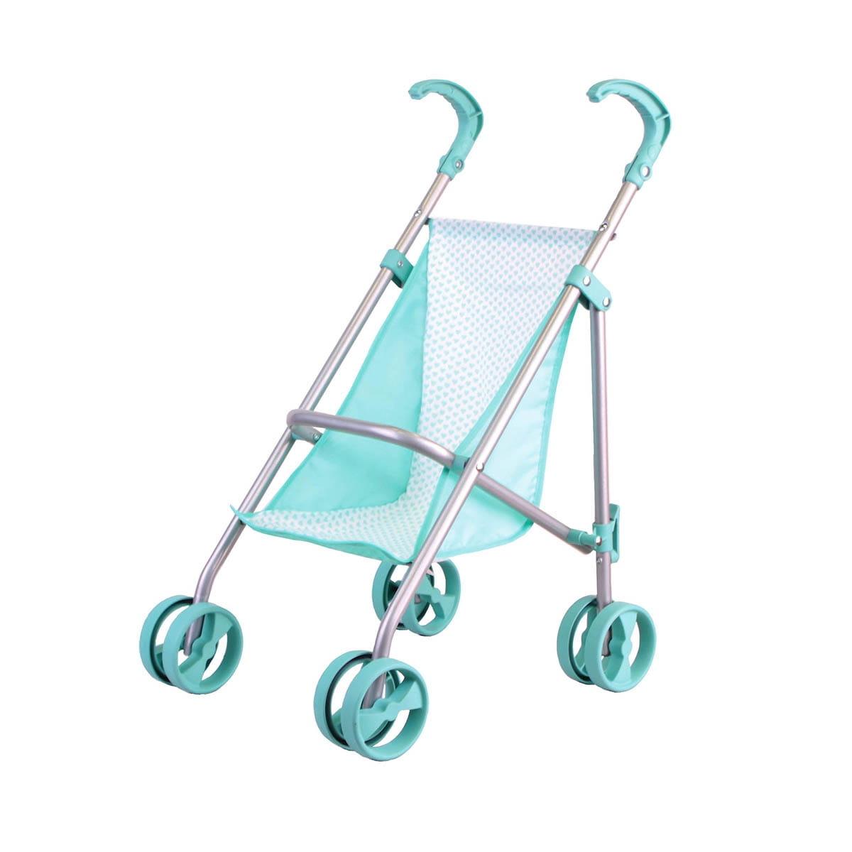 Прогулочная коляска для кукол Gulliver 22-11005-1 Классическая - мятная