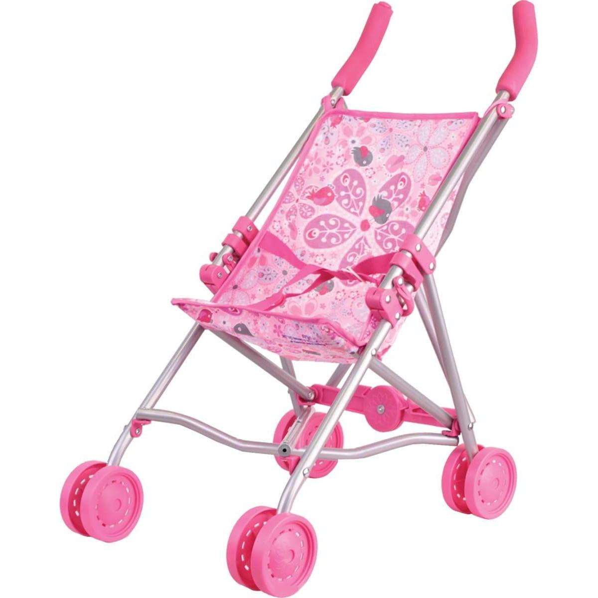 Коляска-трость для кукол Gulliver 22-11007 - розовая